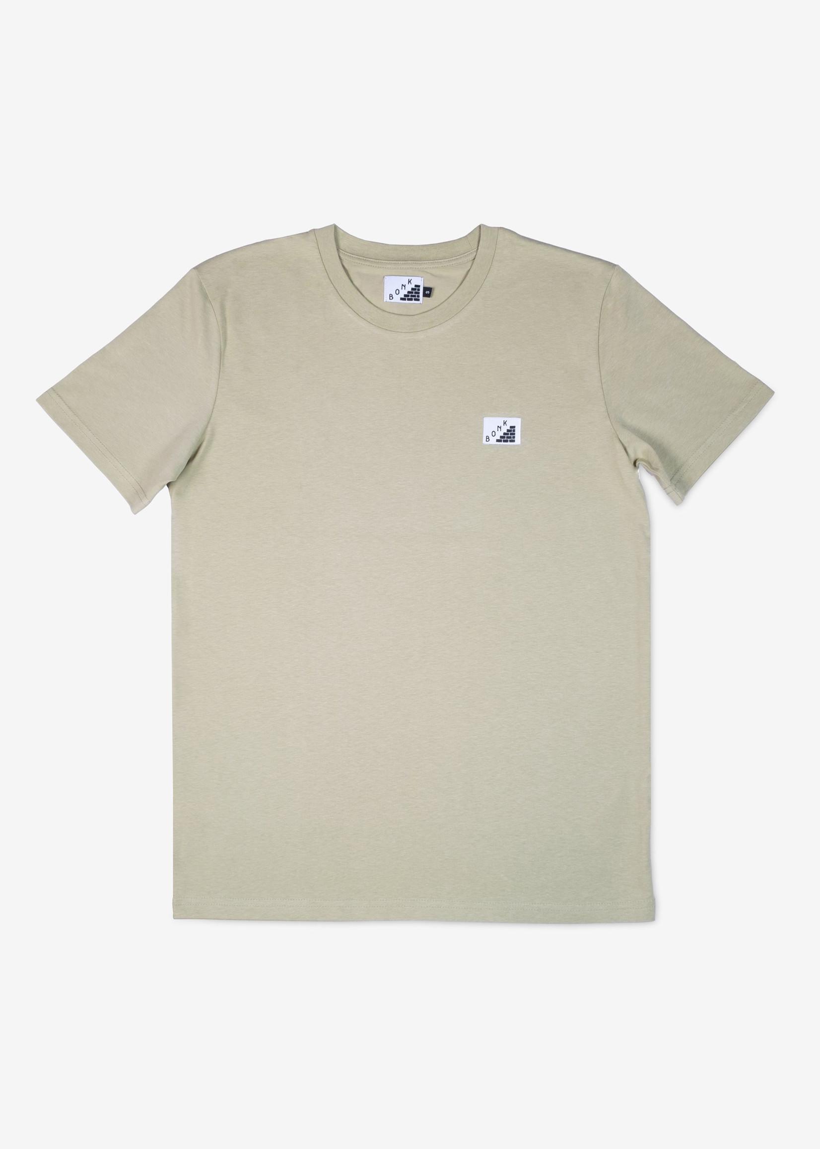 Bonk T-Shirt - Log Out - Olive