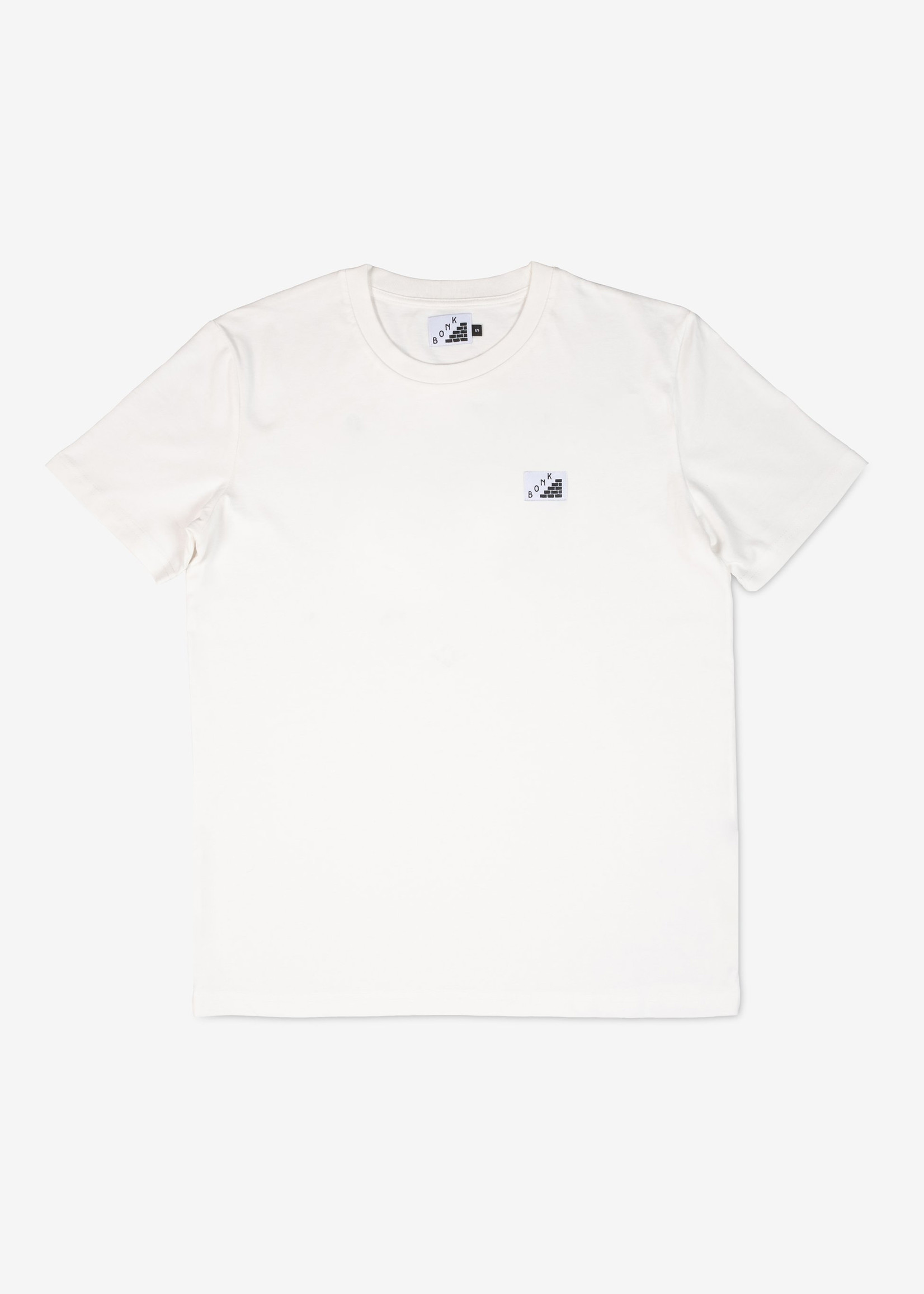 Bonk T-Shirt - Log Out - Off White