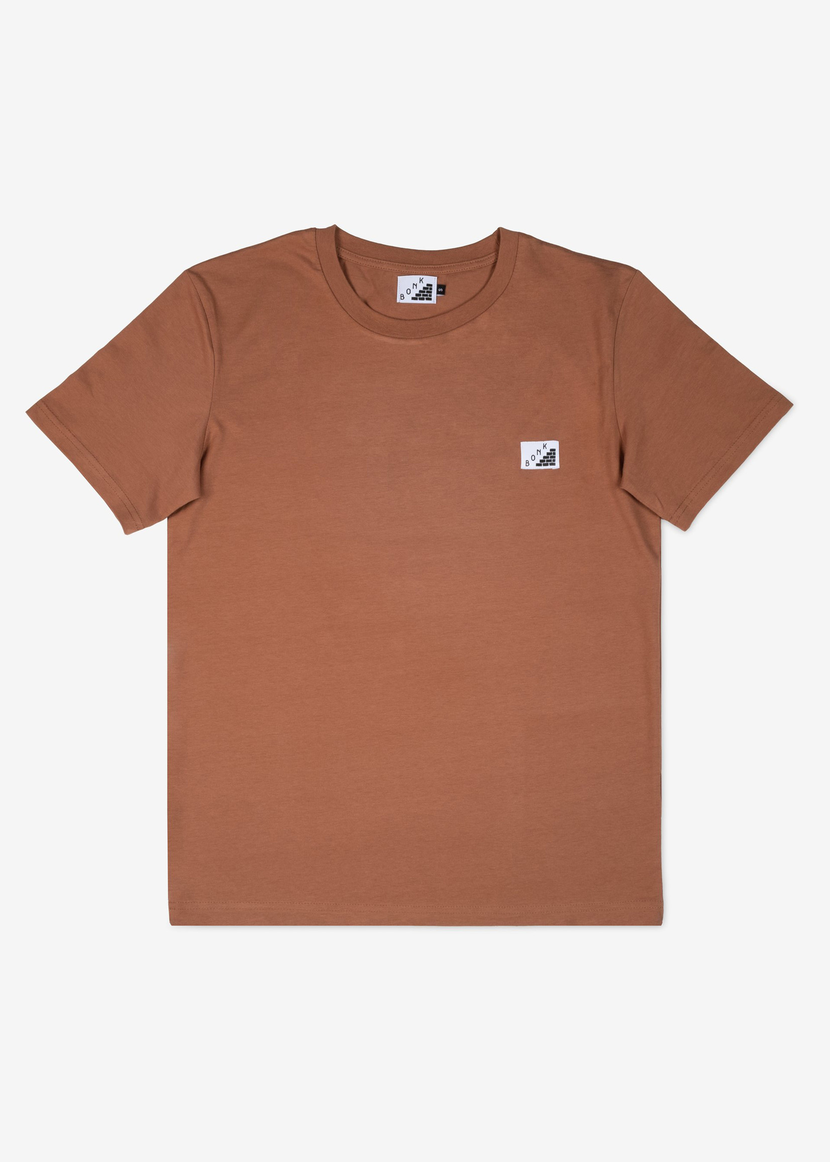 Bonk T-Shirt - Log Out - Chocolate