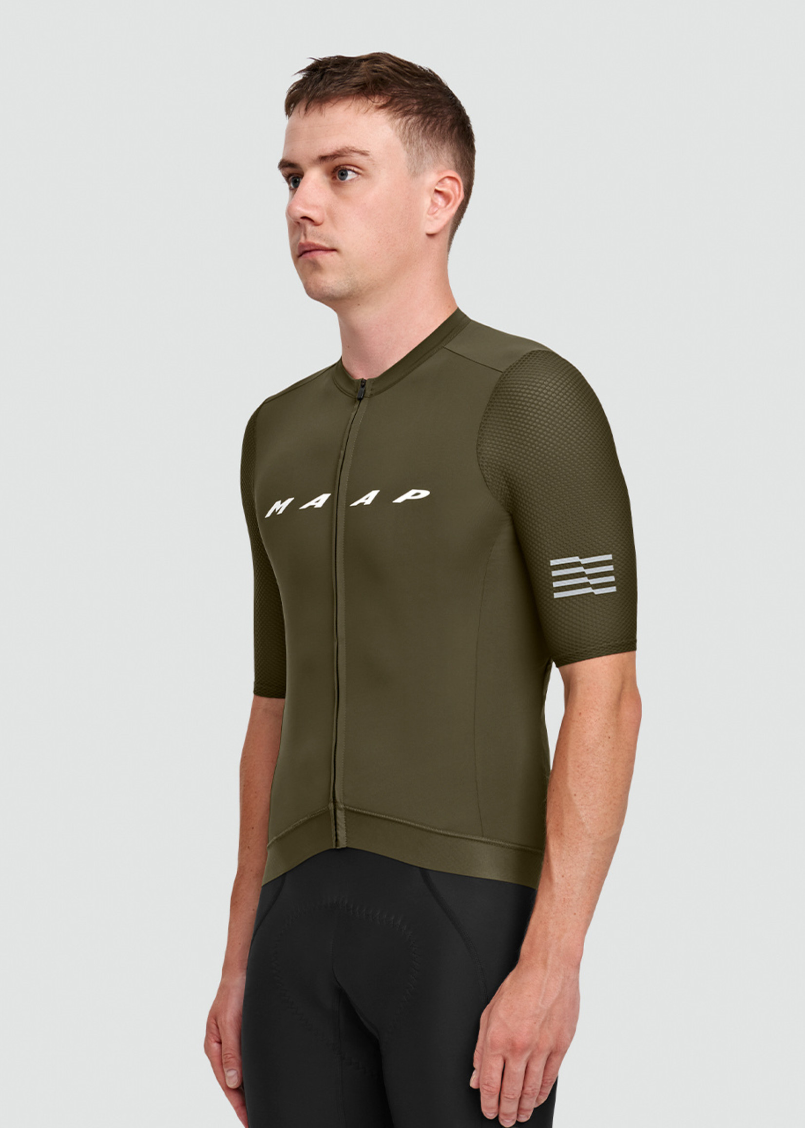 Maap Evade Pro Base Jersey - Olive