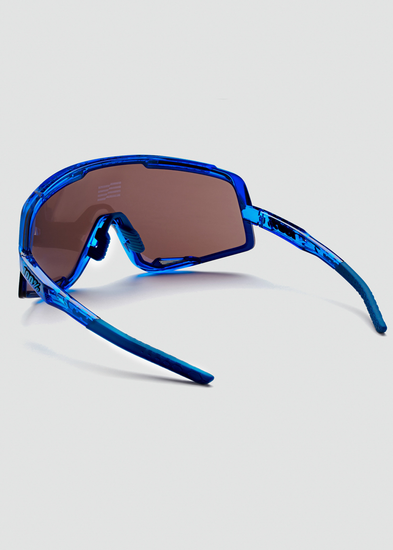100% Glendale x Maap Zonnebril - Blauw