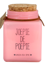 My flame Lifestyle Sojakaars   Joepie de Poepie   Geur : Green Tea Time
