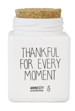My flame Lifestyle Sojakaars | Thankful For Every Moment | Wit | Geur: Fresh Cotton