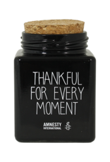 My flame Lifestyle Sojakaars   Thankful For Every Moment   Zwart   Geur: Warm Cashmere