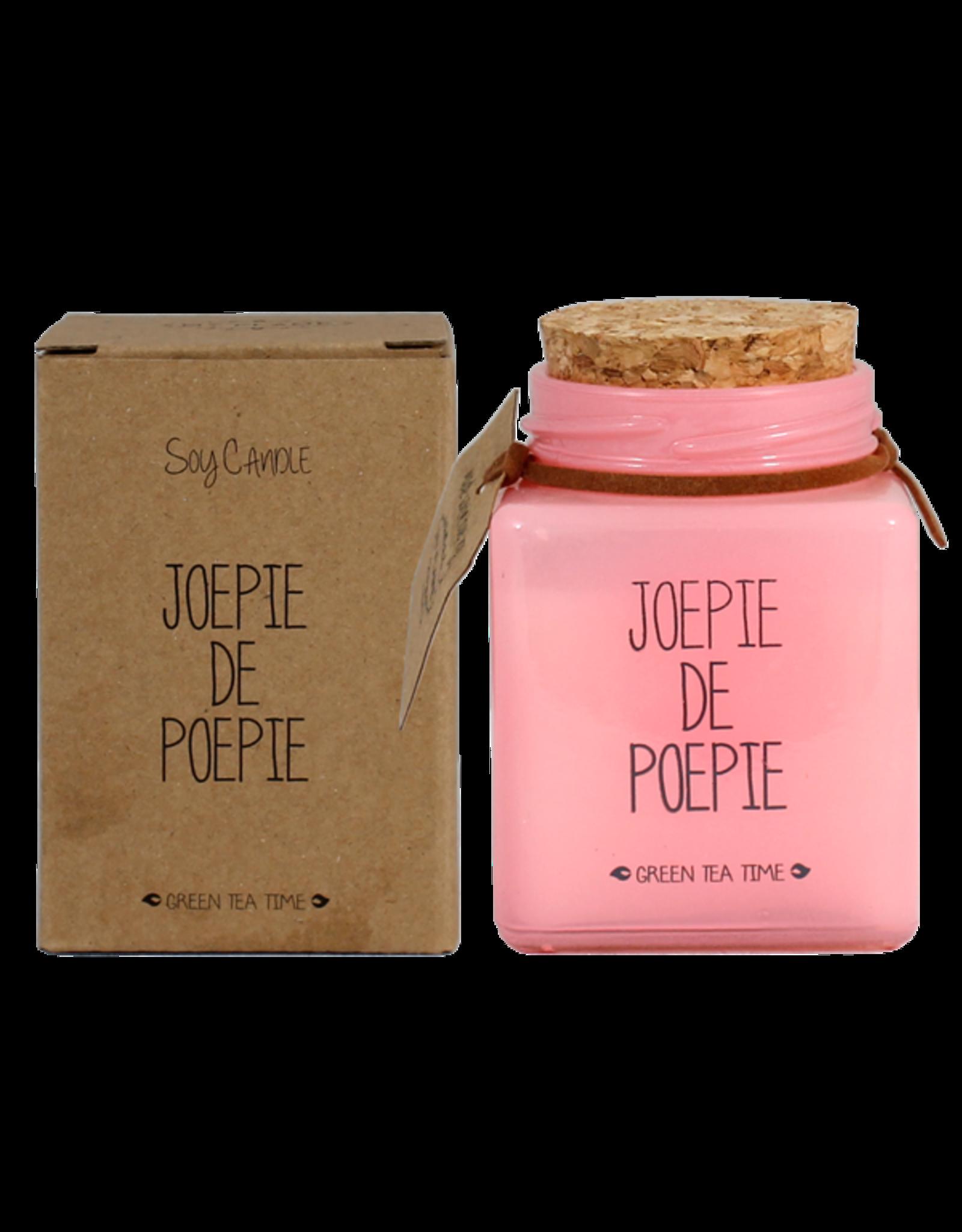 My flame Lifestyle Sojakaars | Joepie de Poepie | Geur : Green Tea Time