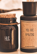 My flame Lifestyle SOJAKAARS – HUG – GEUR: SANDALWOOD SPICE