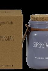 My flame Lifestyle SOJAKAARS –|SUPERSTAR –|GEUR: WARM CASHMERE |