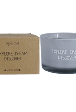 My flame Lifestyle SOJAKAARS – EXPLORE DREAM DISCOVER – AMBER'S SECRET