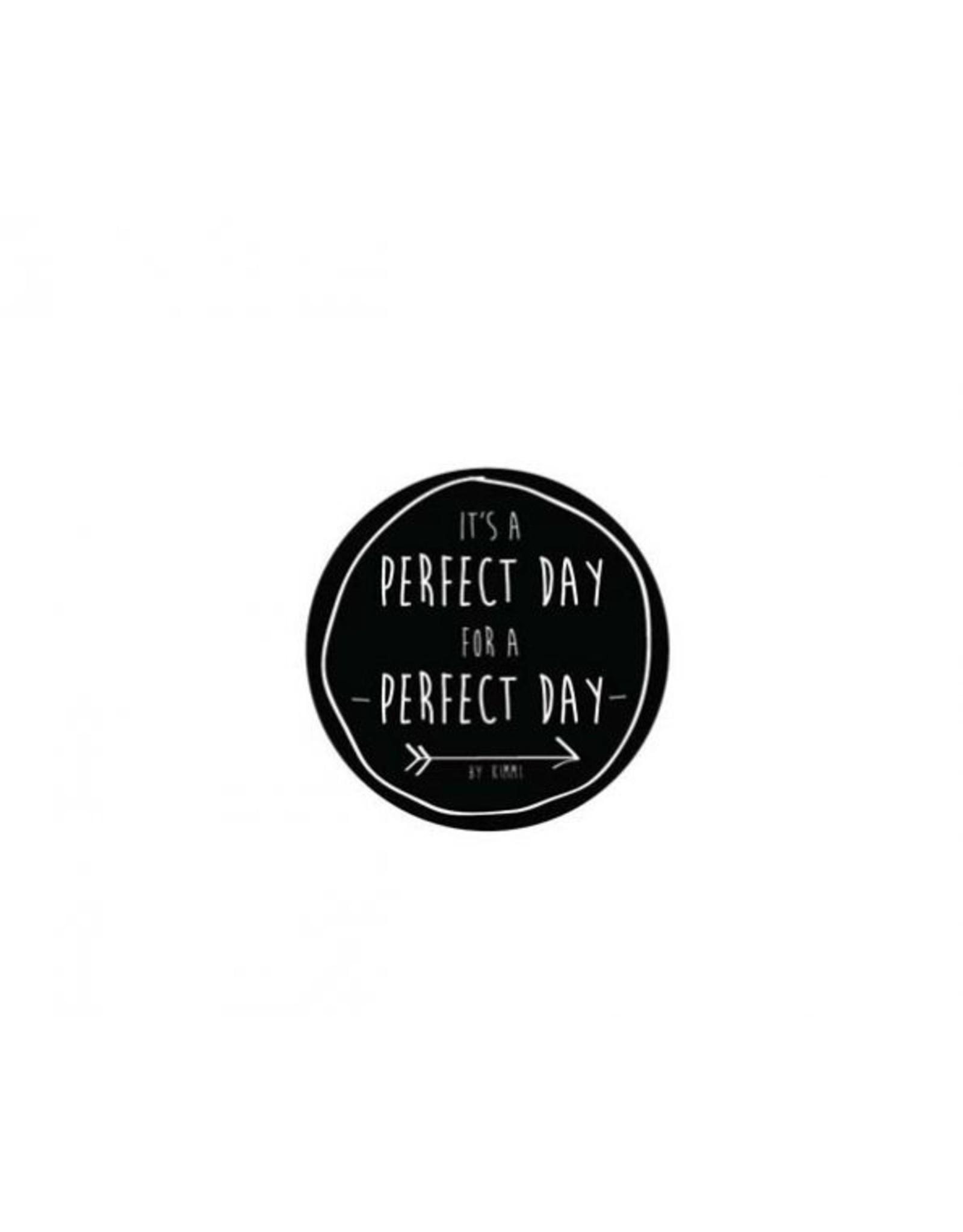 Rustik Lys Kaars in weckpot met tekst | Perfect Day