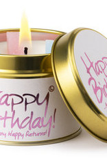 Lily-flame  Lily Flame | Geurkaars | Happy Birthday