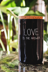 My flame Lifestyle SOJAKAARS – LOVE IS THE ANSWER – GEUR: WARM CASHMERE