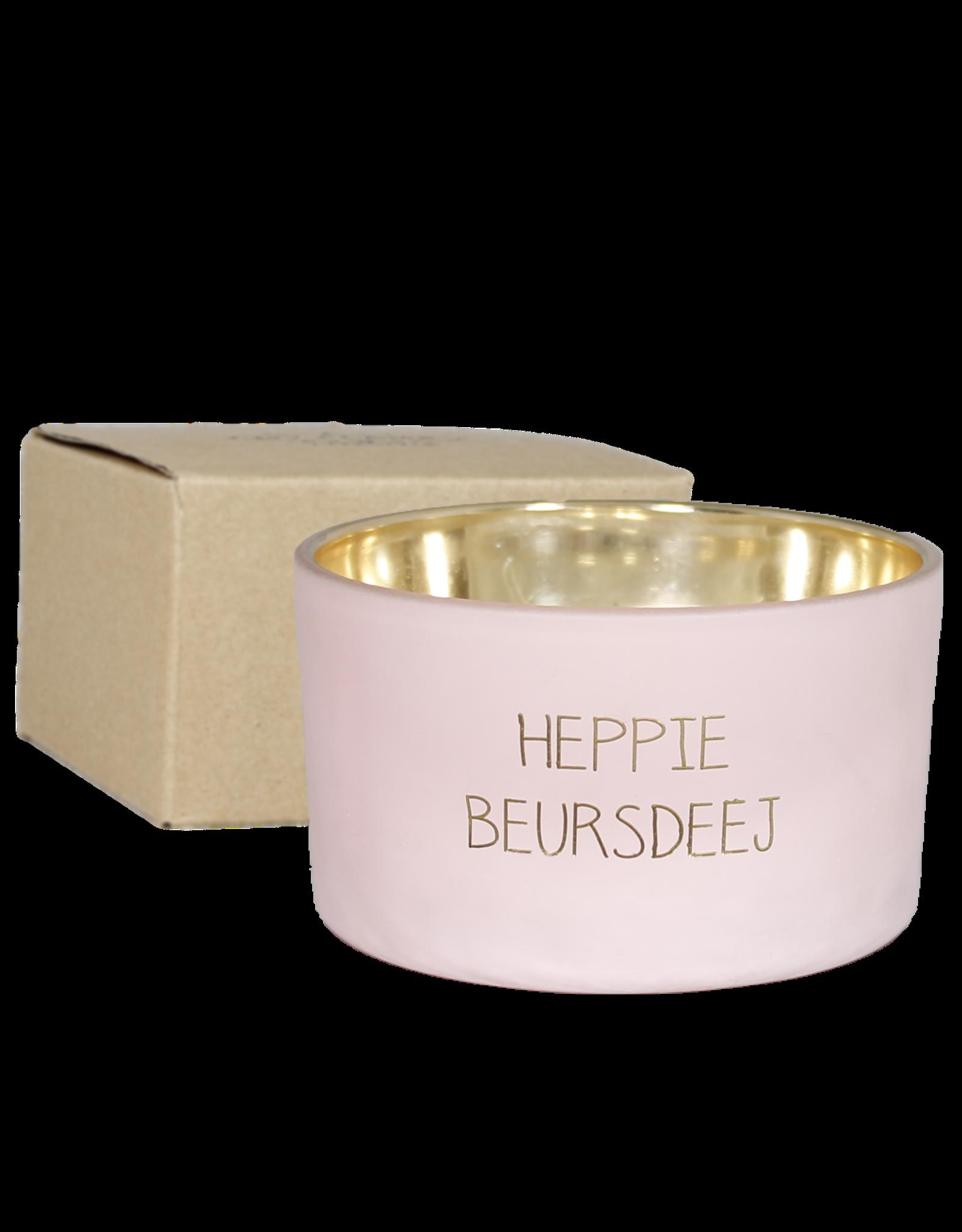 My flame Lifestyle SOJAKAARS MET HOUTEN LONT | HAPPY BEURSDEEJ | GEUR: GREEN TEA TIME