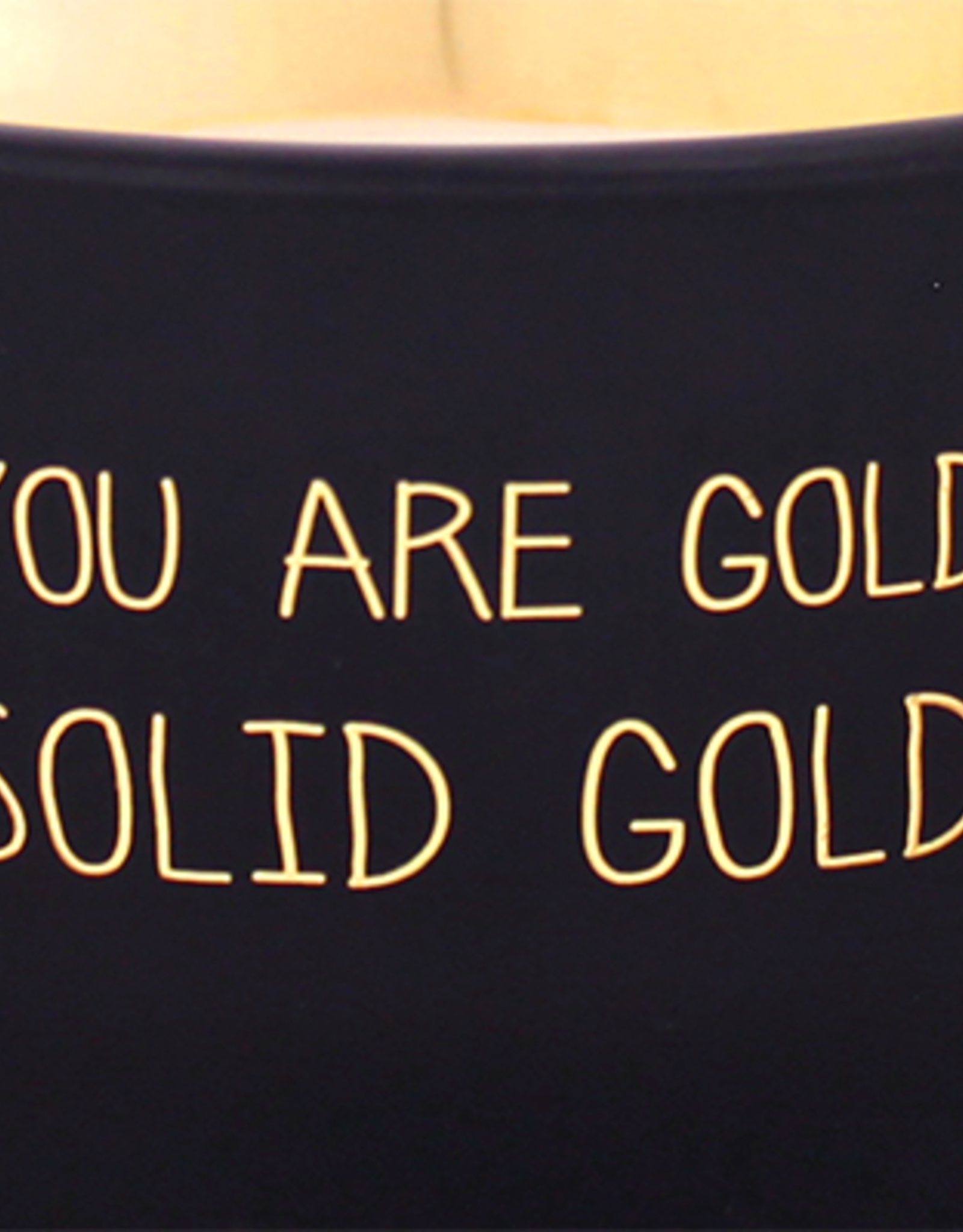 My flame Lifestyle SOJAKAARS MET HOUTEN LONT | YOU ARE GOLD | GEUR : WARM CASHMERE