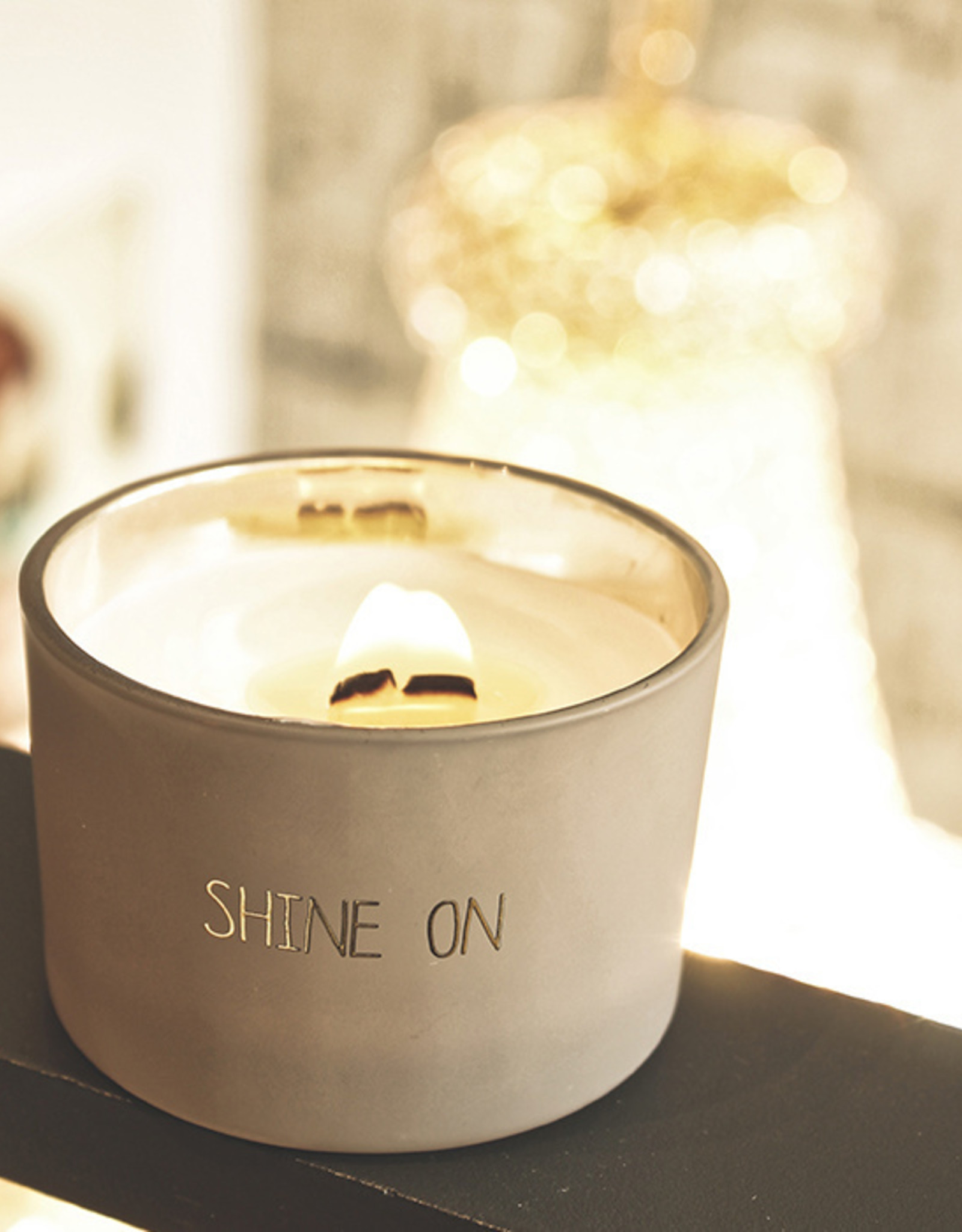 My flame Lifestyle SOJAKAARS MET HOUTEN LONT | SHINE ON  |  GEUR : FIG'S DELIGHT