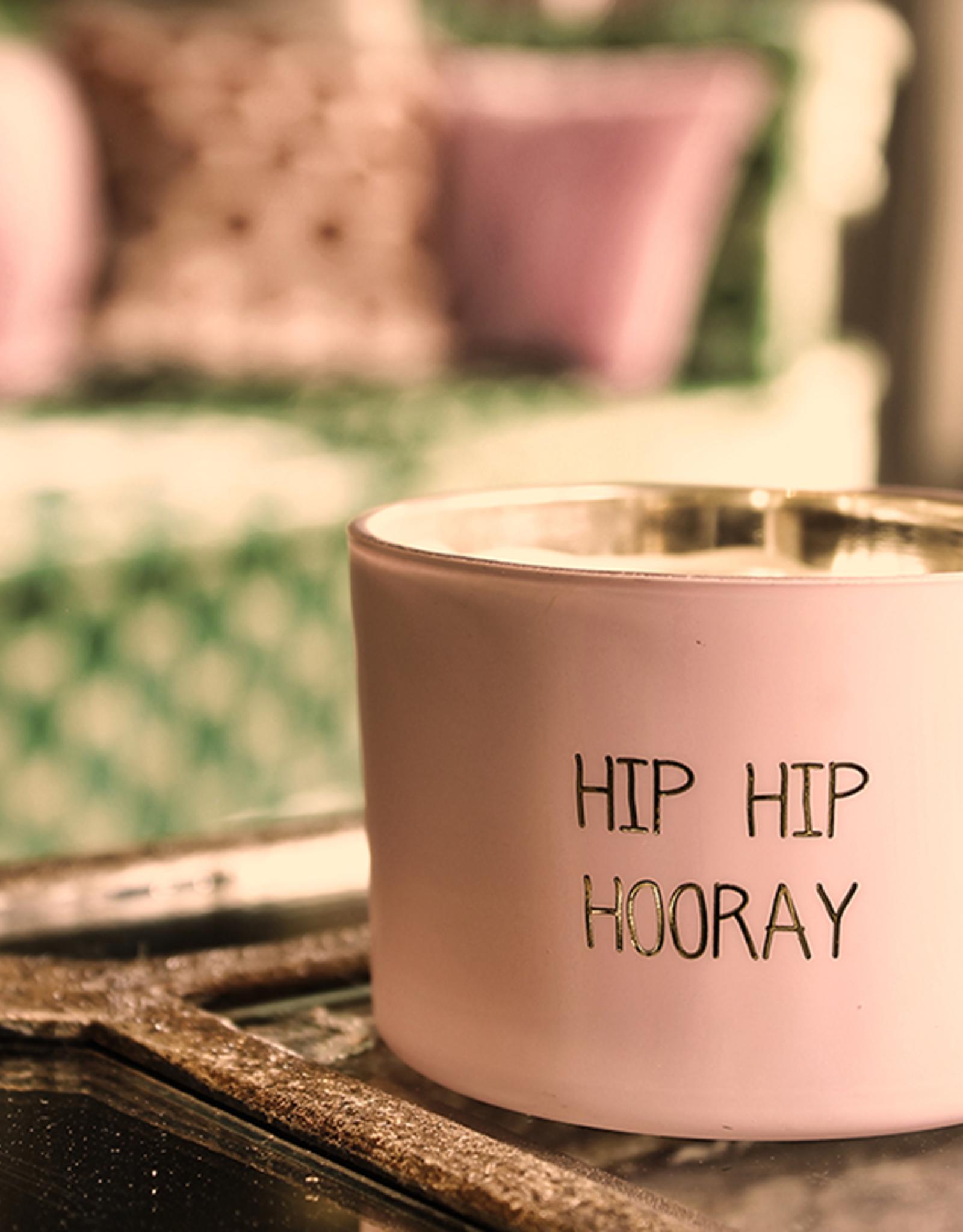My flame Lifestyle SOJAKAARS MET HOUTEN LONT | HIP HIP HOORAY  |  GEUR : GREEN TEA TIME