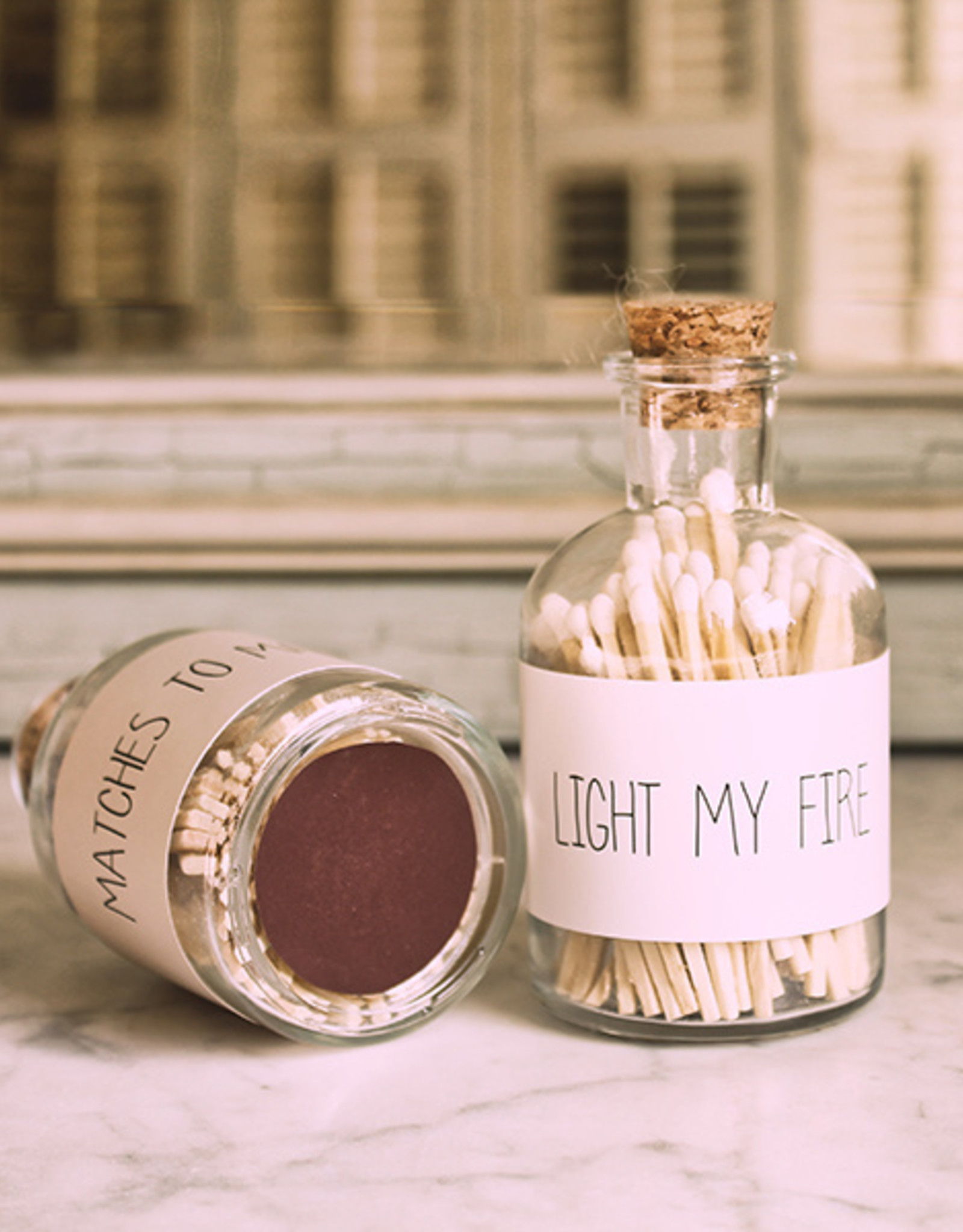 My flame Lifestyle Lucifers | Wit | Light my Fire