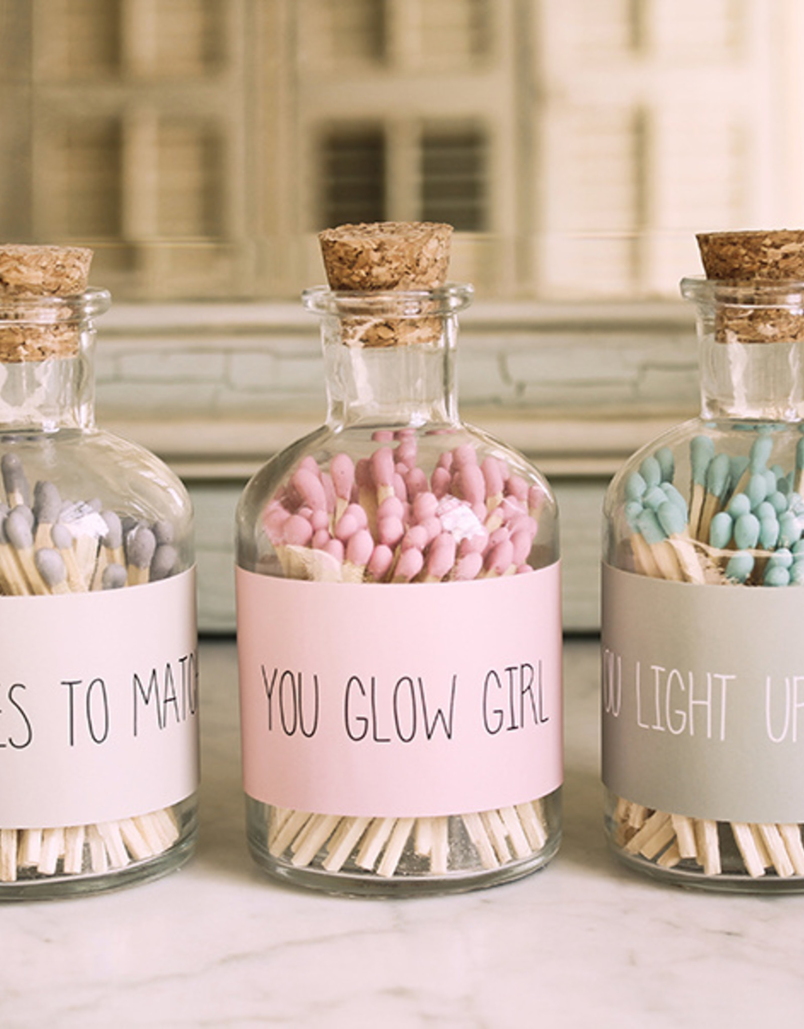 My flame Lifestyle Lucifers | Roze | You glow girl
