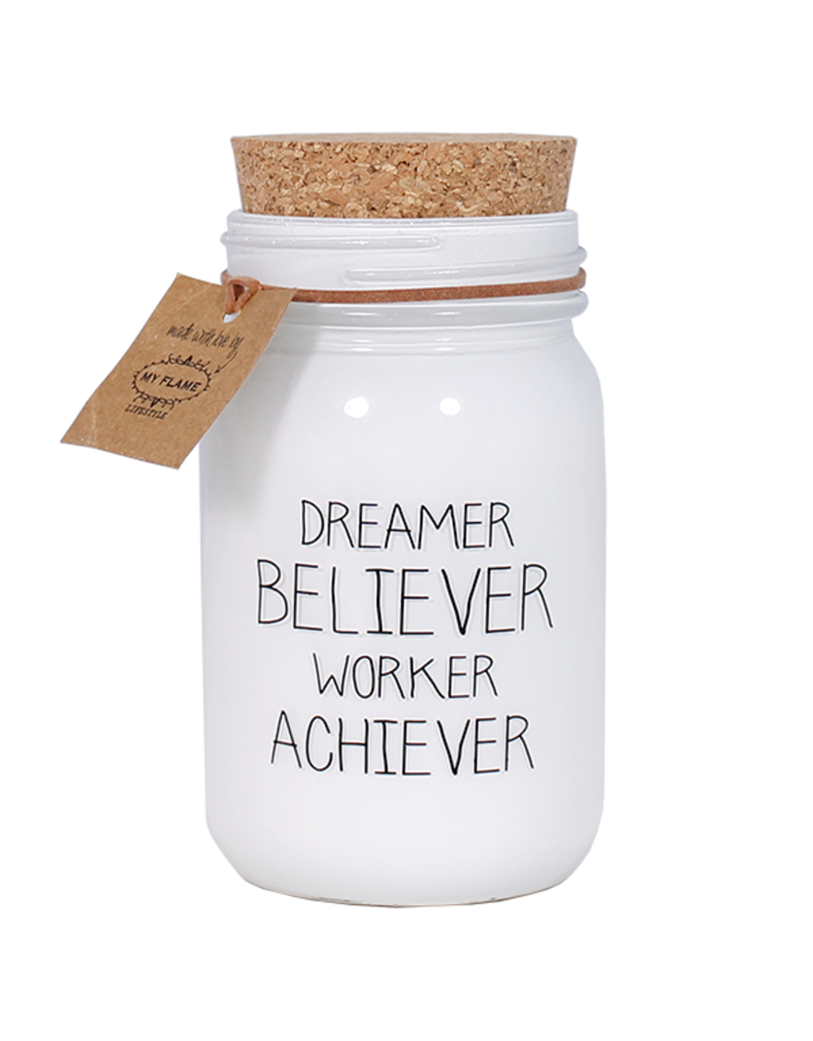 My flame Lifestyle SOJAKAARS - DREAMER ACHIEVER - GEUR: FIG'S DELIGHT