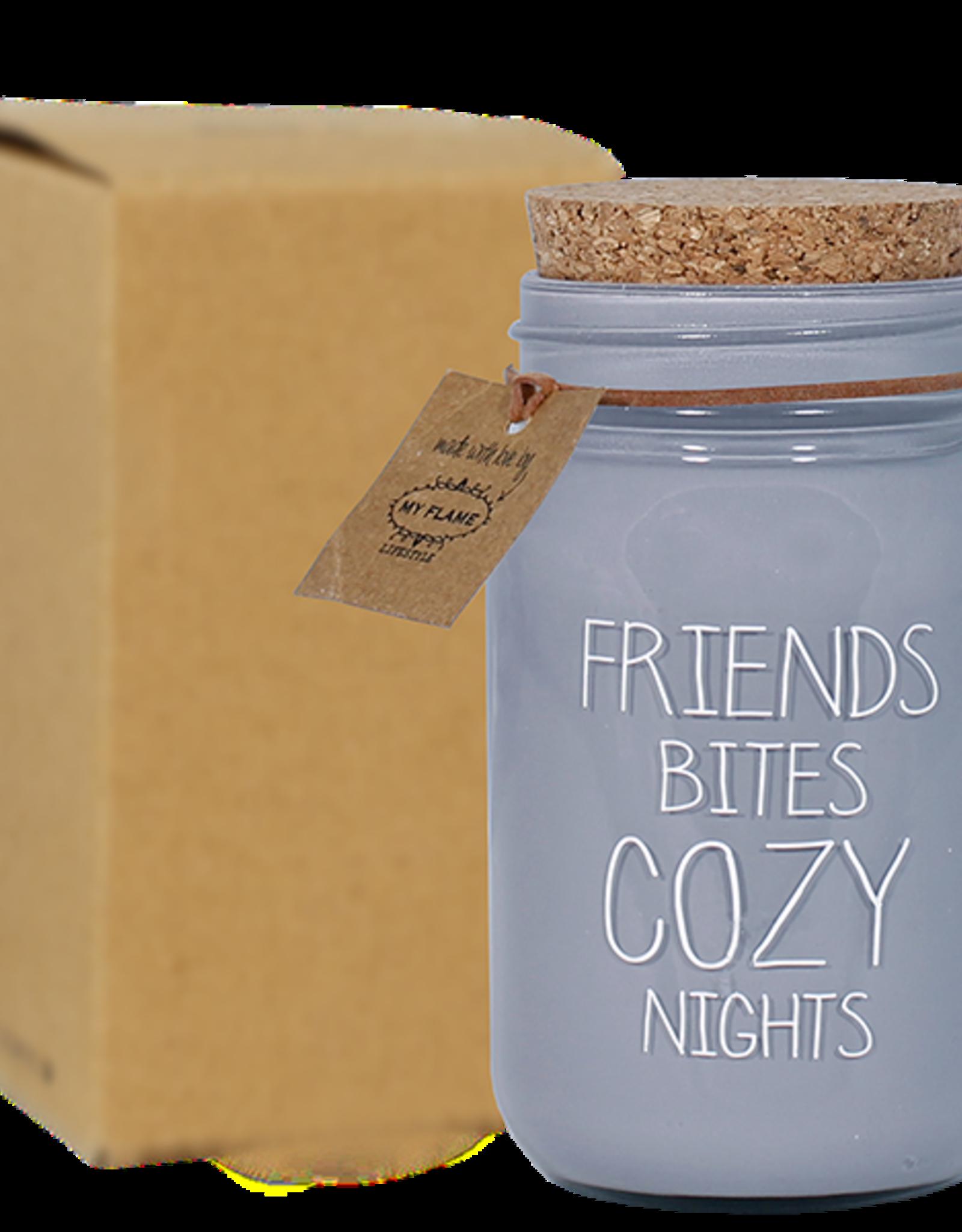 My flame Lifestyle SOJAKAARS | FRIENDS BITES COZY NIGHTS | GEUR: WARM CASHMERE