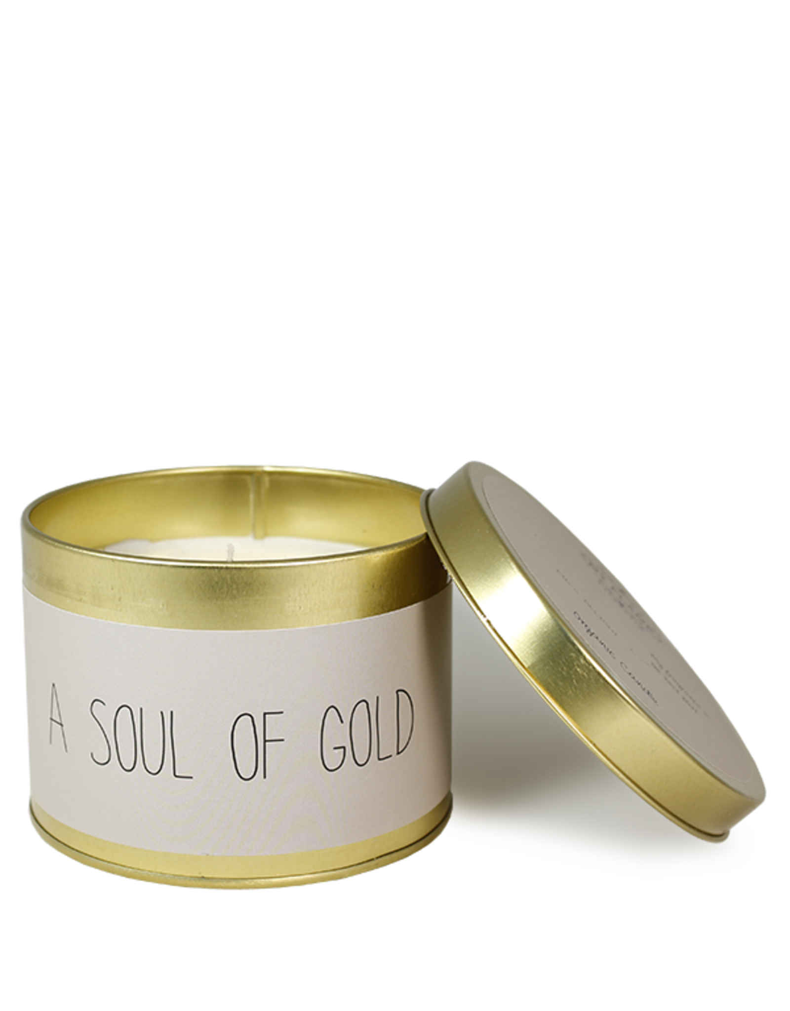 My flame Lifestyle SOJAKAARS - A SOUL OF GOLD - GEUR: FIG'S DELIGHT