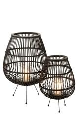 J-line Zwarte lantaarn | 3 pootjes  | J-line
