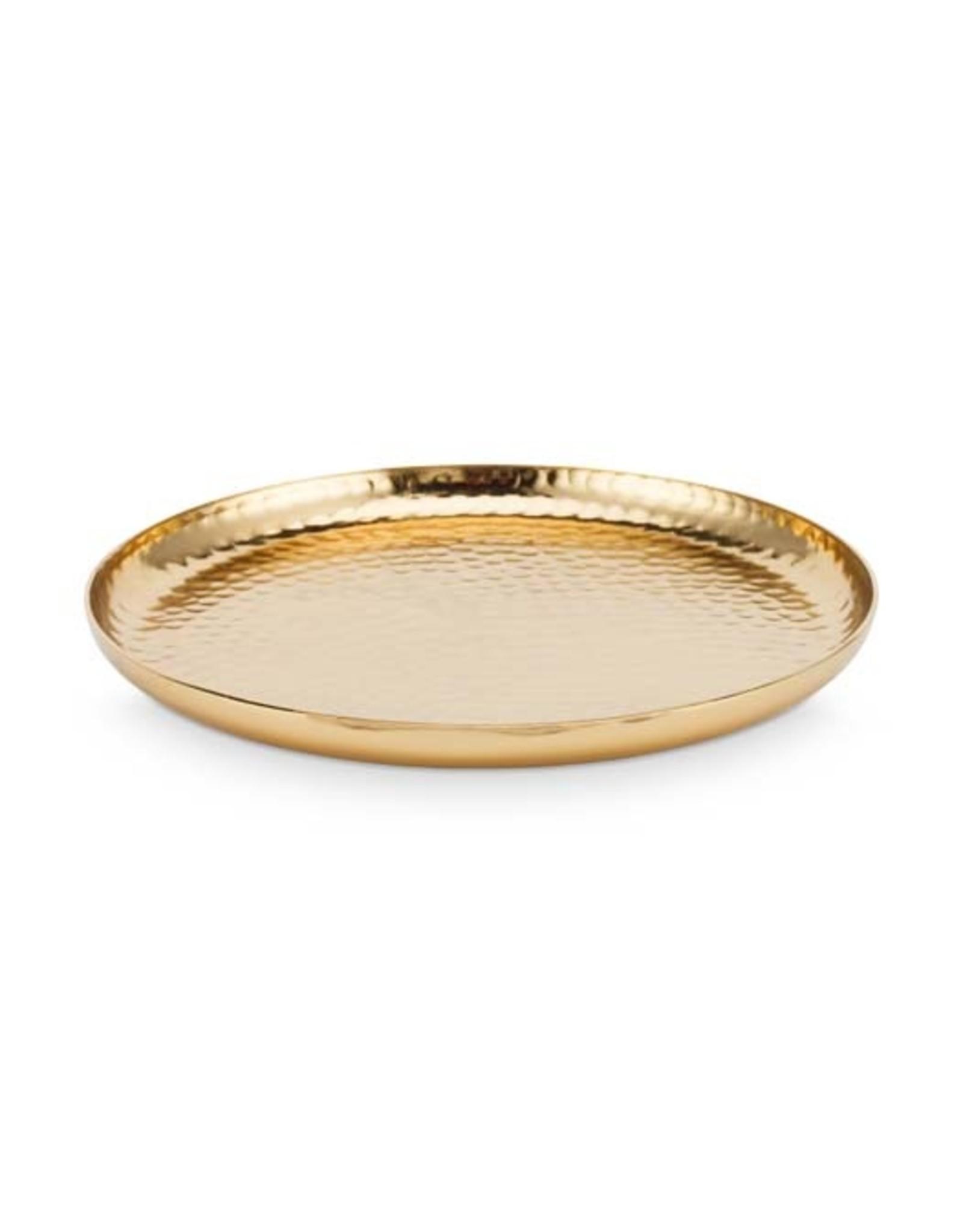 vtwonen Plate Metal Gold | Vtwonen | 15 cm
