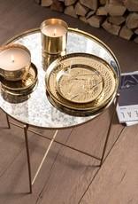 vtwonen Plate Metal Gold   Vtwonen   22 cm
