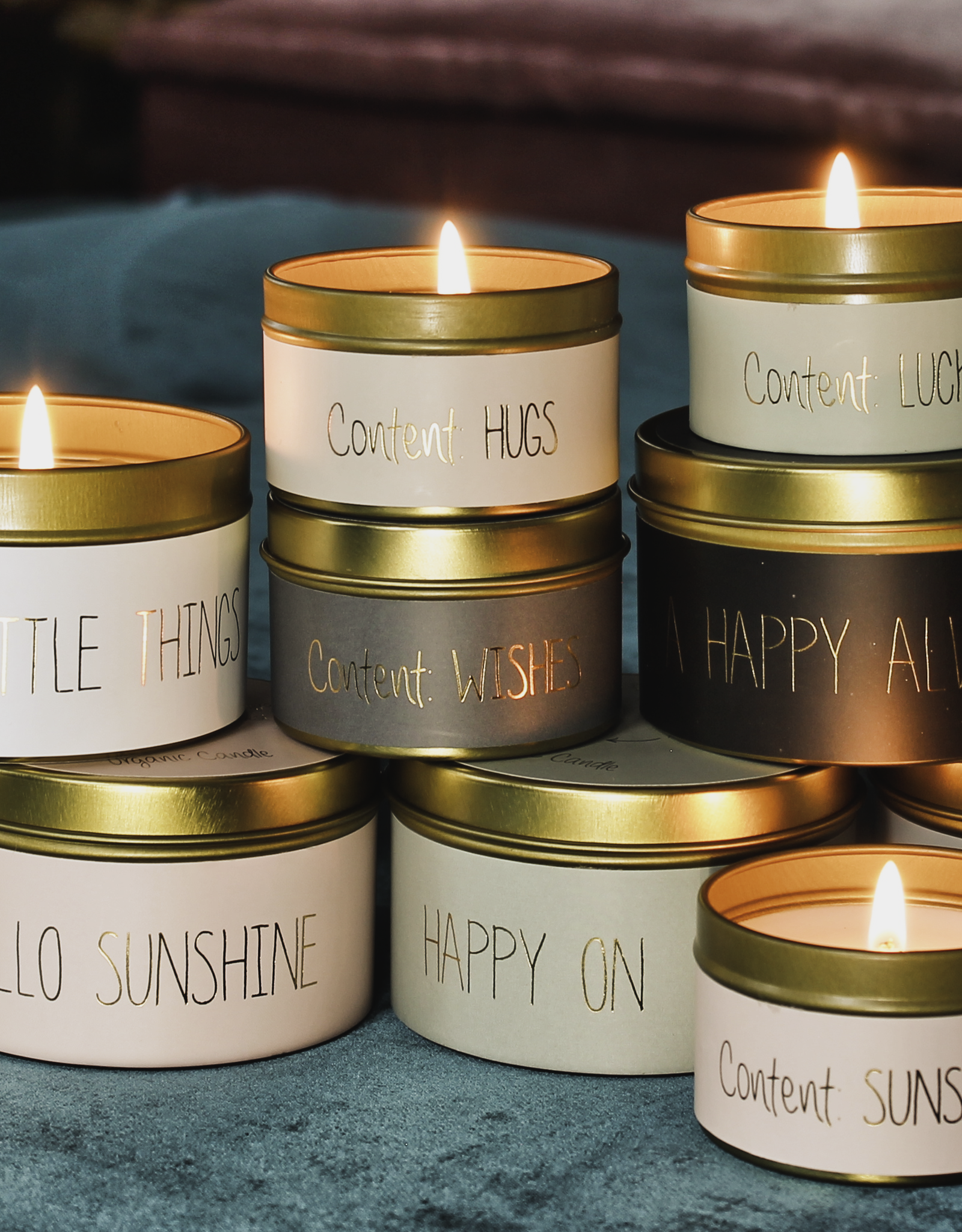 My flame Lifestyle SOJAKAARS – MERRY EVERYTHING AND A HAPPY ALWAYS – GEUR: WARM CASHMERE