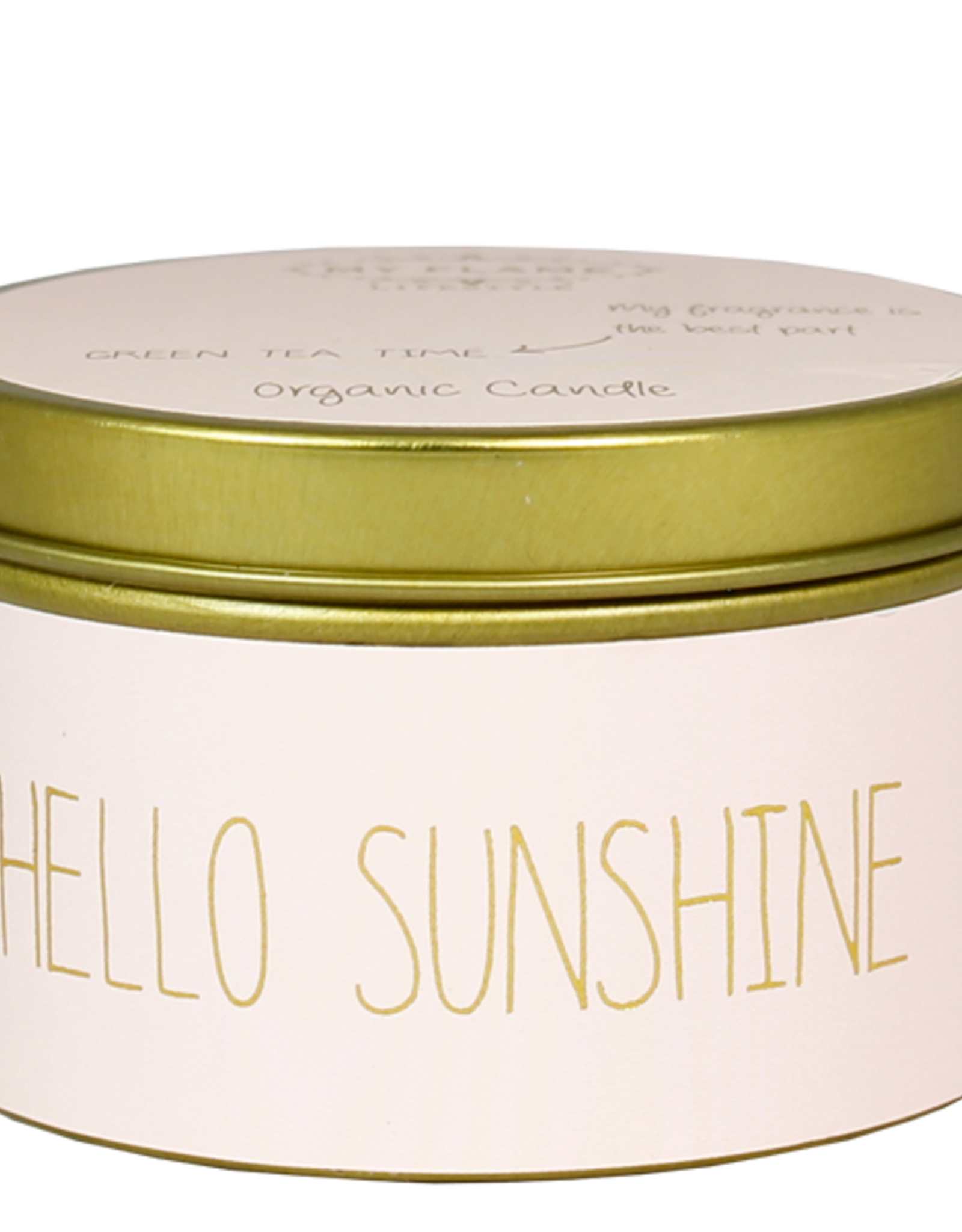 My flame Lifestyle SOJAKAARS – HELLO SUNSHINE – GEUR: GREEN TEA TIME