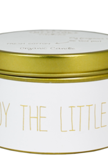 My flame Lifestyle SOJAKAARS – ENJOY THE LITTLE THINGS – GEUR: FRESH COTTON