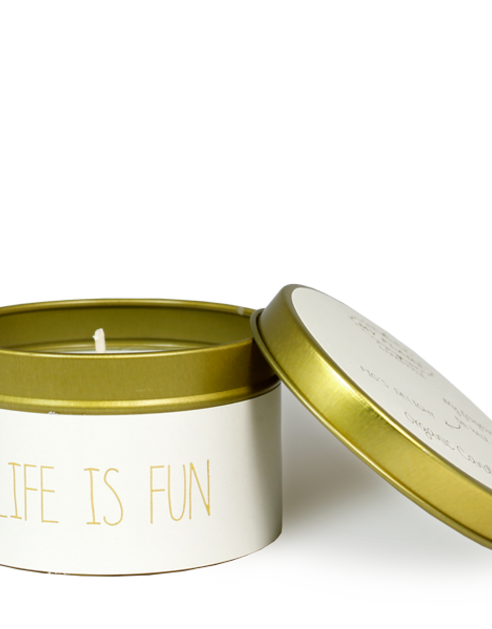My flame Lifestyle SOJAKAARS – LIFE IS FUN – GEUR: FIG'S DELIGHT