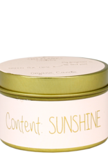 My flame Lifestyle SOJAKAARS | CONTENT :  SUNSHINE | GEUR: GREEN TEA TIME