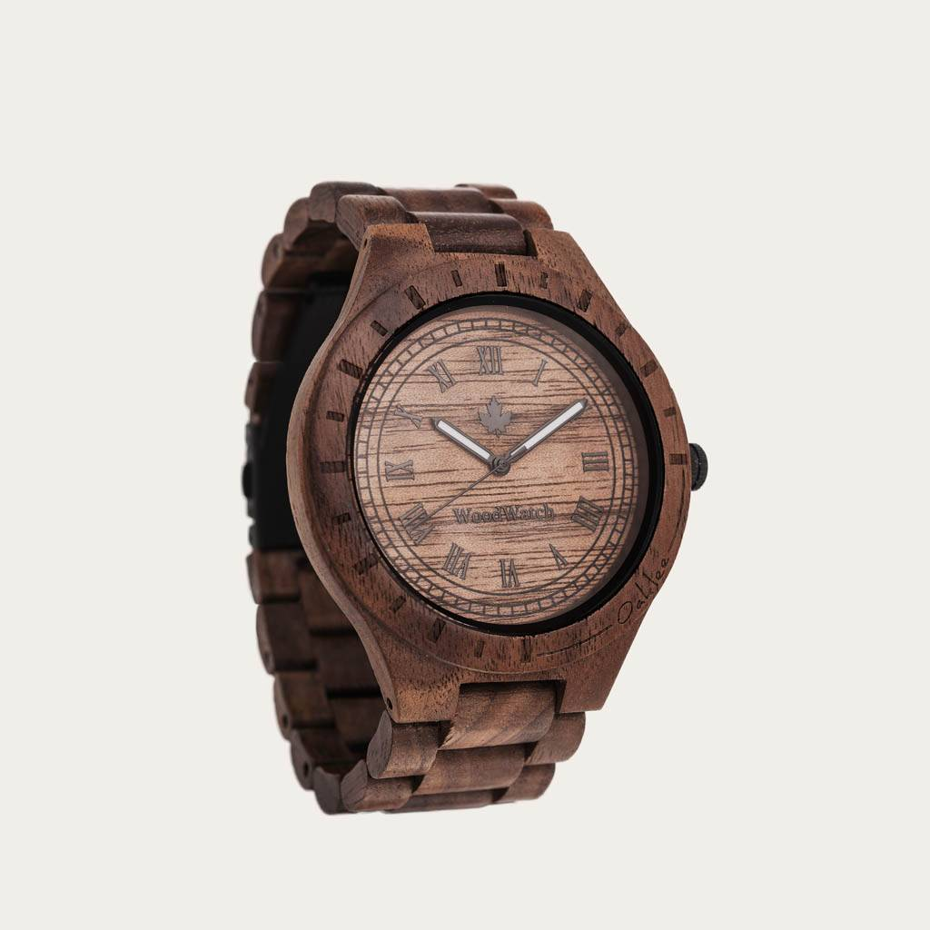 That first instinct and lust for a new adventure. This is the idea that brought the ORIGINAL Collection to life. Hand-carved wooden watches that celebrate the raw aspects of nature, which provide the world its beauty. Each model makes a statement and a gr