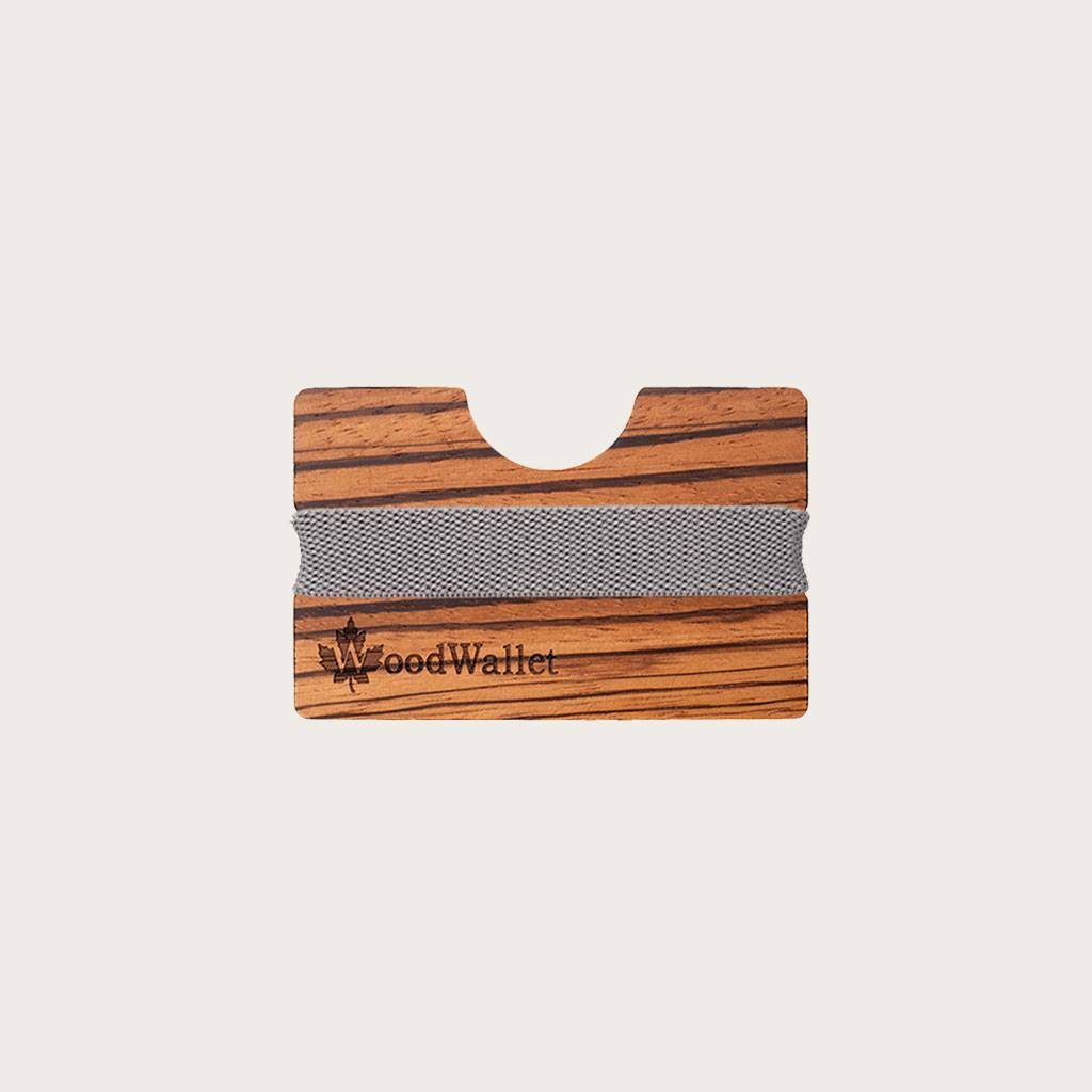 A card holder that is compact in size but can store up to 8 cards. The WoodWalletis made of high quality wood types that fit an eco friendly lifestyle. To personalise your WoodWallet, you can engrave a personal message. Each WoodWallet comes with a high q