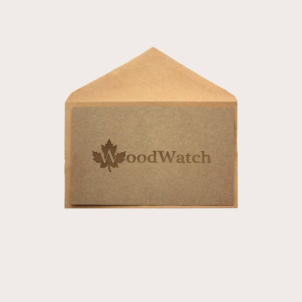 Not sure which watch go give? Give a Gift Card! We will send you the Gift Card per post, so you have something to give to that special person.