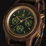 CHRONUS - 42MM Emerald Gold
