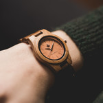 CORE - 36 MM Teak Rosegold