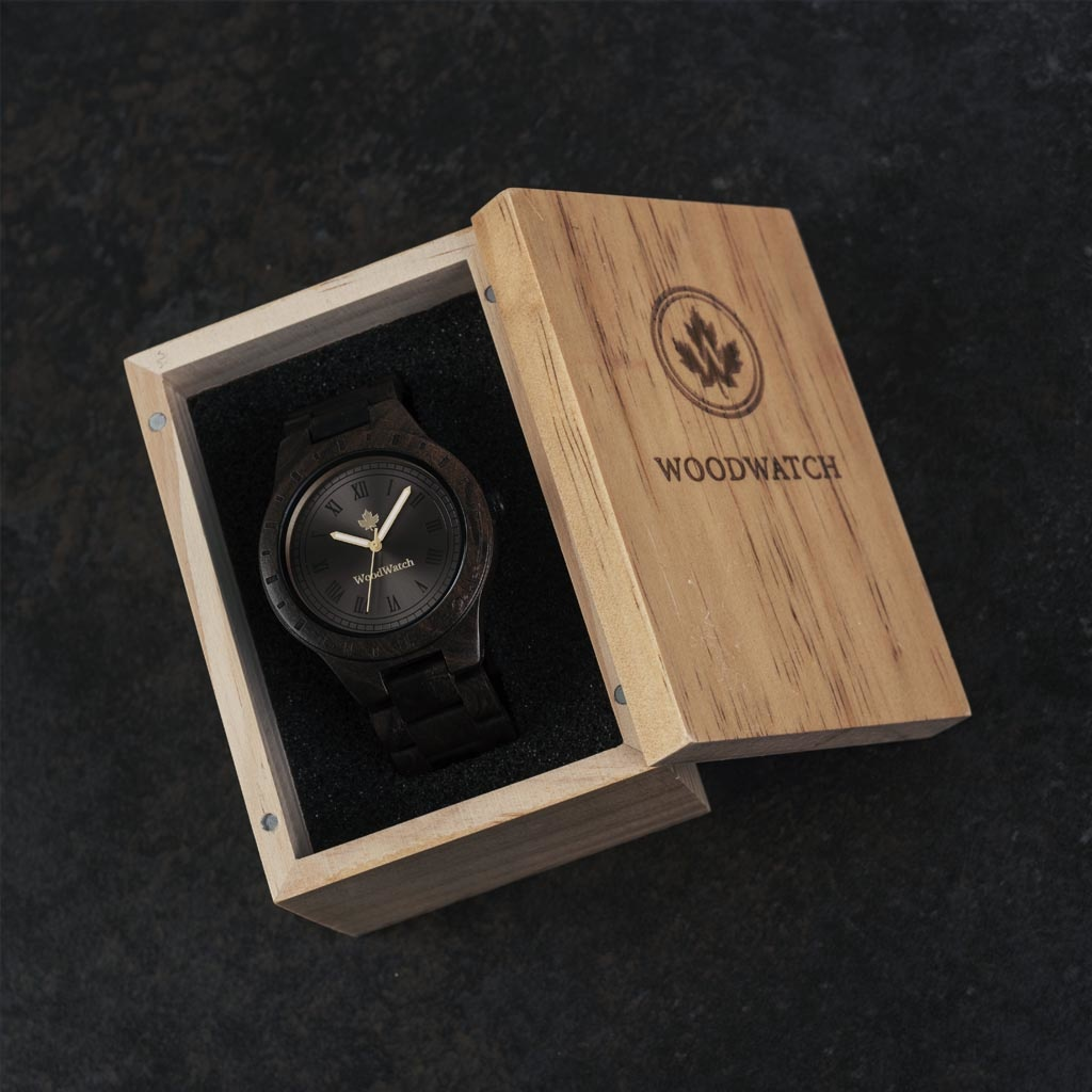 That first instinct and lust for a new adventure. This is the idea that brought the ORIGINAL Collection to life. Hand-carved wooden watches that celebrate the raw aspects of nature, which provide the world with its beauty. Each model makes a statement and