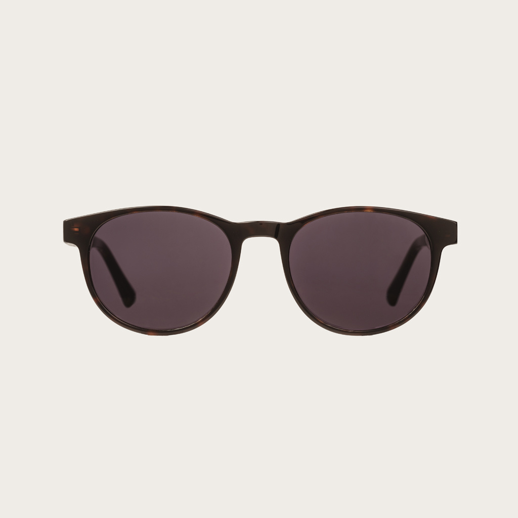 The ELLIPSE Forever Havanas Black features a characteristic rounded dark brown tortoise frame with black lenses. Composed of durable Italian Mazzucchelli bio-acetate with hand-finished natural ebony temples and tortoise acetate tips. Bio-acetate is made f