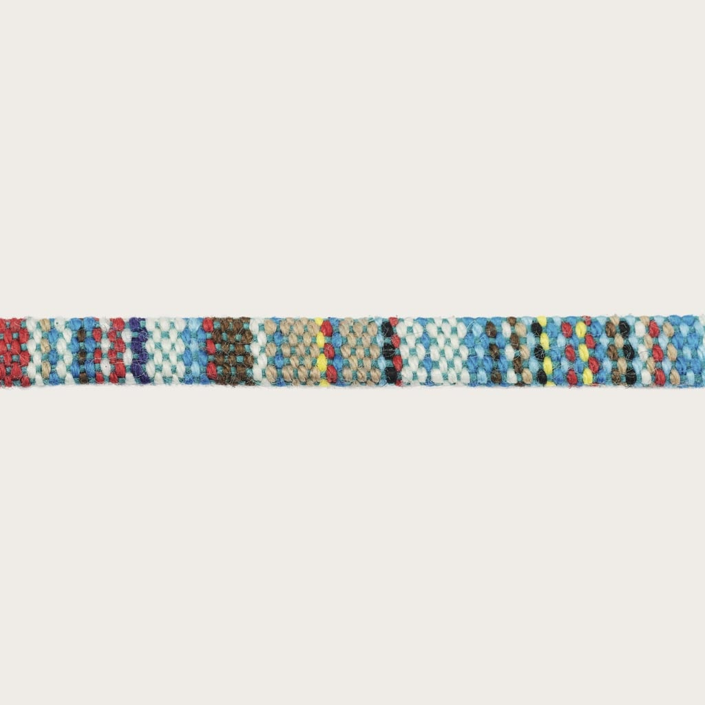 Tired of losing or breaking your glasses or sunglasses? We are dedicated to protecting your eyewear, fashionably. Oozing with style, this bohemian, multicoloured cord can be perfectly matched with your WoodWatch Eyewear, or simply attach it to your own pa