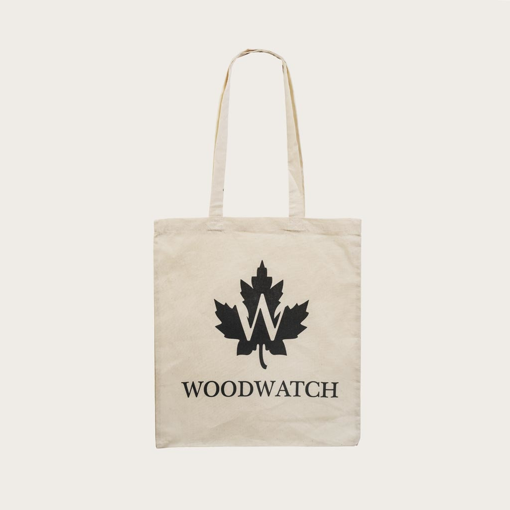 Everyone needs a go-to reusable bag in their life! Say no to plastic and make a statement about sustainability with your signature WoodWatch cotton tote. The premium quality cotton makes this bag extra sturdy, ensuring a longer life and offering additiona
