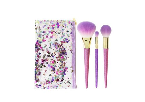 Real Techniques Brush Crush Shimmer and Shine Set