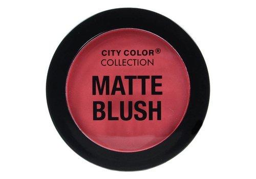 City Color Matte Blush Deep Coral