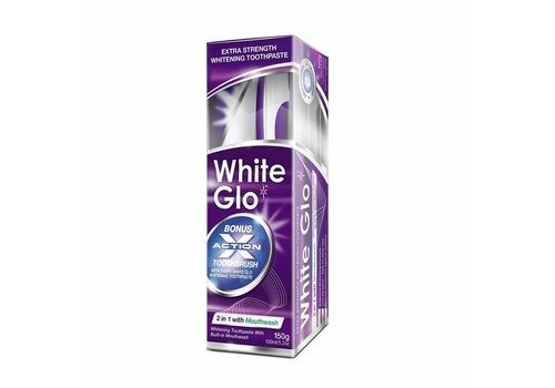 White Glo 2 in 1 Whitening Toothpaste