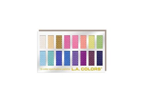 LA Colors 16 Color Eyeshadow Palette Haute