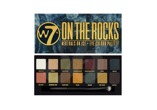 W7 Cosmetics On The rocks Eyeshadow Palette