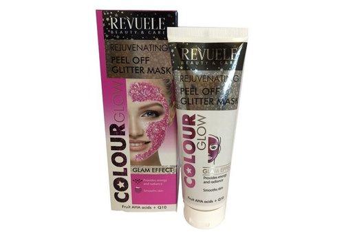 Revuele Peel Off Glitter Mask Pink