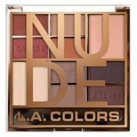 LA Colors Color Block Eyeshadow Palette Nude