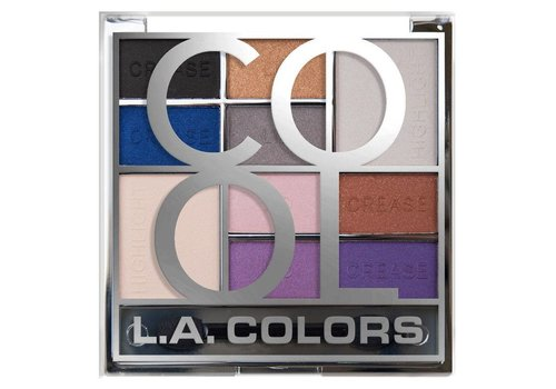 LA Colors Color Block Eyeshadow Palette Cool