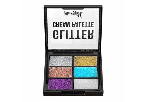 Barry M Glitter Cream Palette
